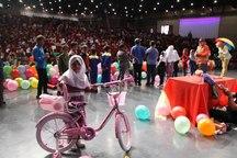 جشن ویژه 1500 کودک کار و خیابان در فرهنگسرای بهمن برگزار شد