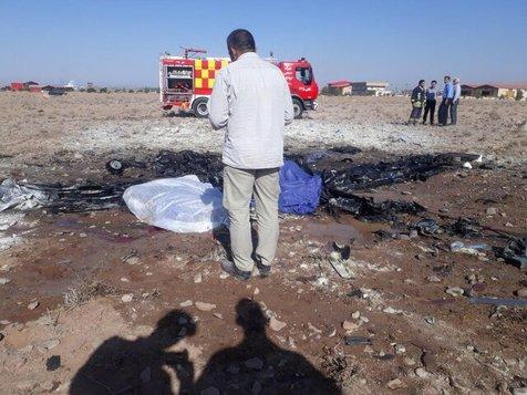 جزییات سقوط هواپیمای آموزشی در گرمسار +تصاویر