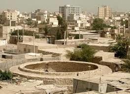 مرمت بنای تاریخی برکه گرد بندرعباس