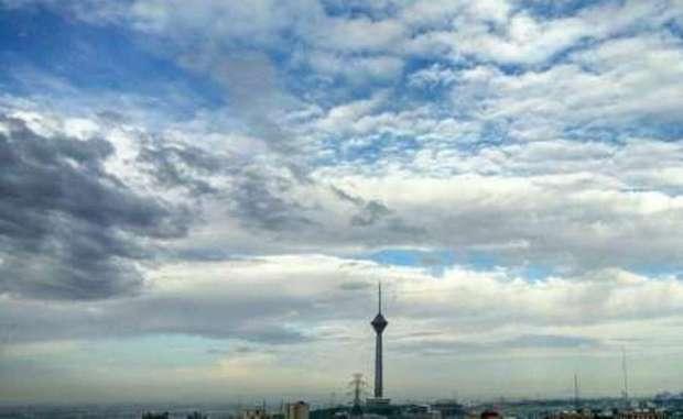 هوای تهران نیمه ابری و گاهی با وزش باد پیش بینی می شود