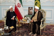روحانی: دولت برای ارائه خدمت بهتر به زائران و مجاوران حرم مطهر رضوی در کنار تولیت آستان قدس رضوی است