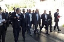 افتتاح طرحهای عمرانی، آبخیزداری و ورزشی شهرستان طالقان با حضور استاندار و مسئولان