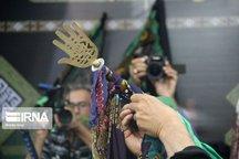 علمبندان سنت دیرینه دامغانیها در محرم