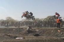 مسابقات موتورکراس قهرمانی کشور در مشهد