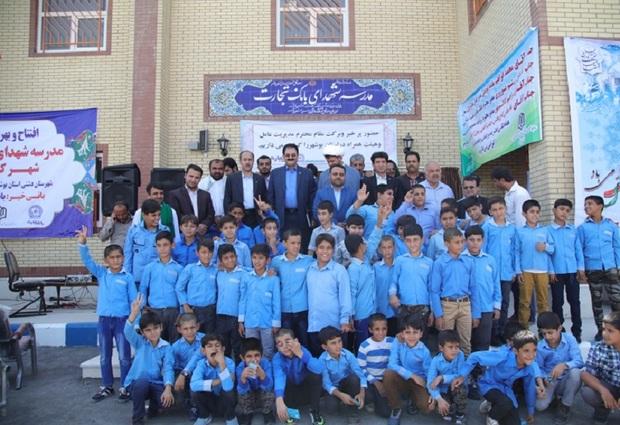 91 کلاس درس توسط خیران در دشتی احداث شد