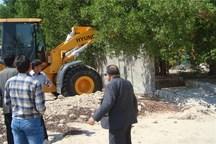 251 مورد ساخت وساز غیر مجاز در اراضی کشاورزی البرز متوقف شد