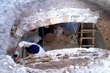 کار مرمت قلعه حسین خان افشار از آثار ملی در شوشتر آغاز شد