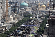 راهپیمایی روز قدس در 120 نقطه  خراسان رضوی برگزار می شود