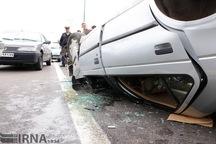 واژگونی خودرو در همدان 2 کشته بر جا گذاشت