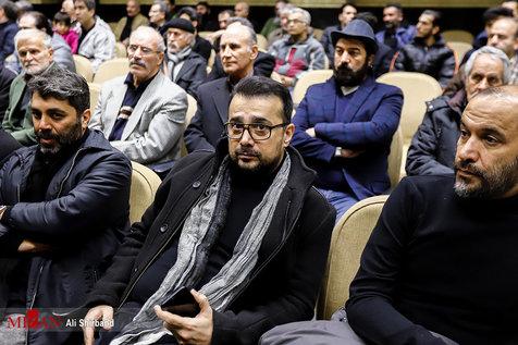 بازیگران سینما و تلویزیون در مراسم ترحیم حسین محباهری+ تصاویر