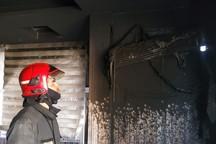 کولر گازی ساختمان مسکونی را به آتش کشاند