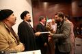 حضور سید حسن خمینی در اختتامیه مسابقات قرآنی، اذان و تفسیر کارکنان بانک صادرات