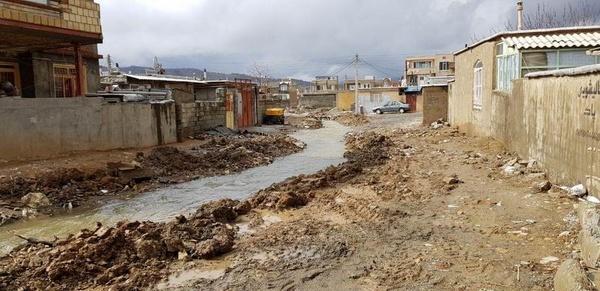 رودخانه بانه لایروبی شد  سیلاب بدون مشکل از بانه عبور کرد