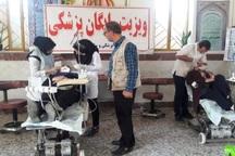اهالی روستای محروم فسا خدمات دندانپزشکی رایگان دریافت کردند