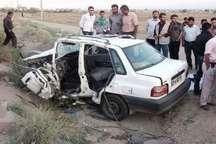 سوانح رانندگی در ایلام 2 کشته و 6 زخمی برجا گذاشت