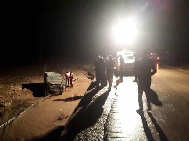 سیلاب یک نفر را در اندیکا به کام مرگ فرو برد