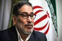 شمخانی: طرح چهار ماده ای ایران برای پایان دادن به بحران سوریه ارایه شده است