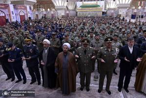 تجدید میثاق کارکنان ارتش جمهوری اسلامی با آرمان های امام خمینی(س)