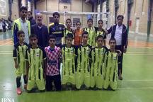 تیم فوتسال سیستان و بلوچستان قهرمان کشور شد