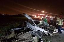 2 گنبدی در تصادف رانندگی به کما رفتند