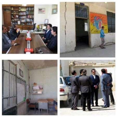 دستهای مهربان یک مدرسه فرسوده در روستای محمودآباد شیراز را نوسازی می کند