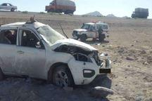 واژگونی خودرو در سبزوار شش مصدوم داشت