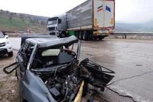حادثه رانندگی در مهاباد 2 کشته برجا گذاشت