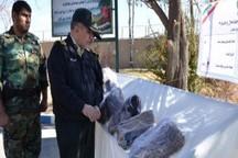 حدود 132 کیلوگرم مواد مخدر در چهارمحال و بختیاری کشف شد