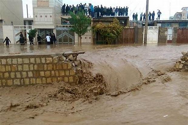 94خانوار گرفتار سیلاب در خوزستان امدادرسانی شدند