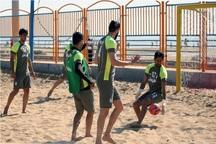 اردوی تیم ملی فوتبال ساحلی دربوشهر آغاز شد