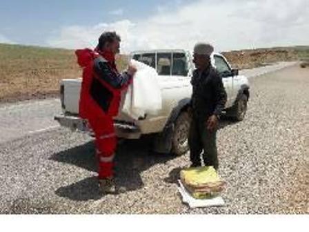 امدادگران هلال احمر اصفهان به کمک  603 نفر حادثه دیده شتافتند