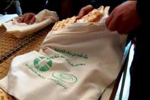 نانوای خرم آبادی اقدام به حذف کیسه های پلاستیکی کرد