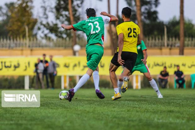 تساوی شهرآورد ارومیه در لیگ برتر فوتبال آذربایجانغربی