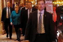 صدر اعظم آلمان شام را با ترامپ نخورد+ تصاویر