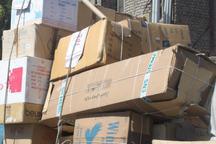 32 میلیارد ریال دستگاه های برودتی قاچاق در یزد کشف شد
