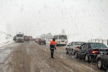 تردد در جاده اندیکا - شهرکرد تا 26 بهمن ممنوع شد