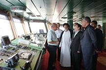 فعالیت آزمایشی کشتی اقیانوس پیمای «سانی» در بندرعباس آغاز شد