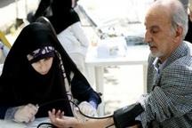ویزیت رایگان 200 بیمار روستای نانگ و باغو بندرعباس در بیمارستان صحرایی ارتش