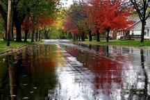 56 میلیمتر باران در لنده بارید