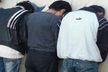 باند سه نفره سارقان حرفه ای منزل در زاهدان منهدم شد