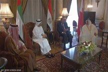 نشست وزرای خارجه مصر، عربستان، امارات و بحرین برای بررسی بحران قطر
