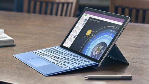 مایکروسافت از لپتاپ سرفیس رونمایی کرد