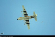 پرتاب بمب از هواپیمای هرکولس ارتش + عکس