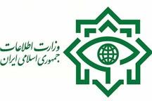دستگیری عناصر تروریستی وابسته به داعش