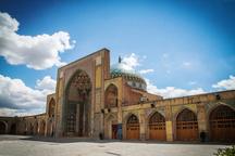 مرمت گنبد مسجد النبی (ص) قزوین آغاز شد