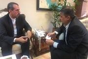 دیدار رئیس نمایندگی وزارت خارحه با  استاندار مارندران