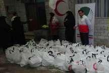 600 بسته مواد غذایی در بین نیازمندان بانه توزیع شد