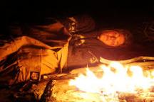 مصدومیت شهروند قزوینی بر اثر خوابیدن در کنار آتش