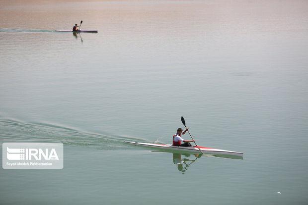 مسابقات قایقرانی انتخابی تیم ملی در بوشهر آغاز شد