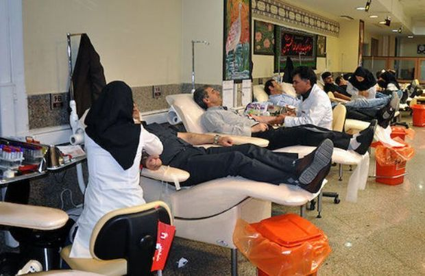 بیشترین استقبال از نذر خون در خمینیشهر صورت گرفت